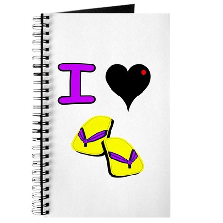 I Love Flip Flops Summer Journal