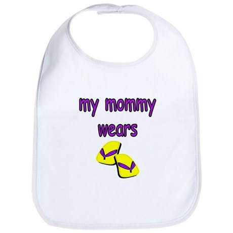 My Mommy Wears Flip Flops Bib