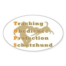 Schutzhund is TOPS Decal