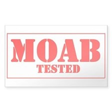 Moab Tested Rectangle Decal