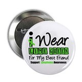 "I Wear Lime Green Best Friend 2.25"" Button"
