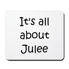 Jules name Mousepad