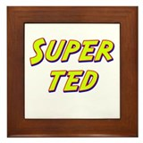 Super ted Framed Tile