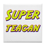 Super teagan Tile Coaster