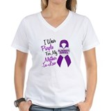 I Wear Purple For My Mother-In-Law 18 (AD) Shirt