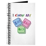 I Know My ABC Journal