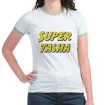 Super tasha Jr. Ringer T-Shirt