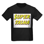 Super tasha Kids Dark T-Shirt