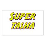 Super tasha Rectangle Sticker