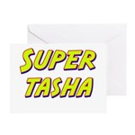 Super tasha Greeting Card