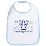 Angels Are Watching Over Me Bib