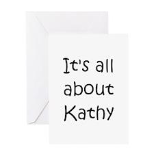 Cute Kathy Greeting Card