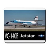 VC-140B Jetstar Business Jet Mousepad