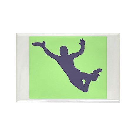 CHALK GREEN BLUE DISC CATCH Rectangle Magnet (10 p