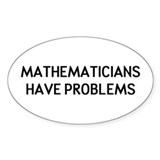 Mathematicians Decal