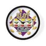 Slot Slut Wall Clock