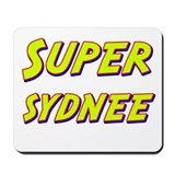 Super sydnee Mousepad