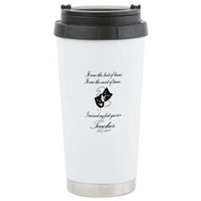 Funny 1st Year Teacher Drama Ceramic Travel Mug