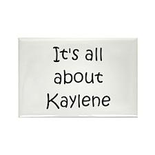 Funny Kaylen Rectangle Magnet (100 pack)