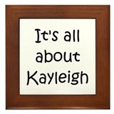 Cool Kayleigh Framed Tile