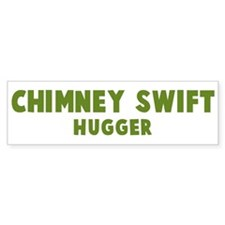 Chimney Swift Hugger Bumper Bumper Sticker