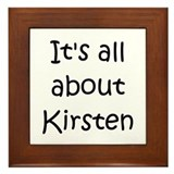 Cool Kirsten Framed Tile