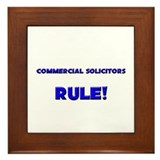 Commercial Solicitors Rule! Framed Tile
