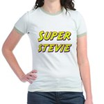 Super stevie Jr. Ringer T-Shirt