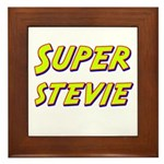 Super stevie Framed Tile