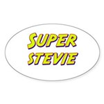 Super stevie Oval Sticker