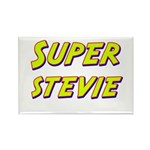 Super stevie Rectangle Magnet