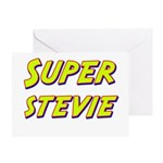 Super stevie Greeting Card