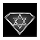 SuperIsraeli(metal) Tile Coaster