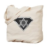 SuperIsraeli(metal) Tote Bag