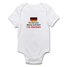 German Wiener Schnitzel Infant Bodysuit
