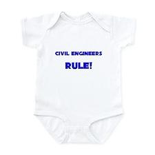 Civil Engineers Rule! Infant Bodysuit