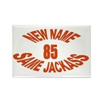New Name, Same Jackass Rectangle Magnet (100 pack)