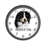 Cute Bernese puppy Wall Clock