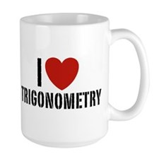 I Love Trigonometry Coffee Mug