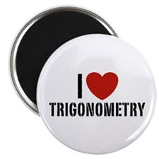 I Love Trigonometry Magnet