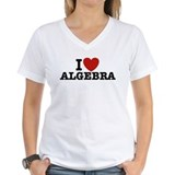 I Love Algebra  Shirt