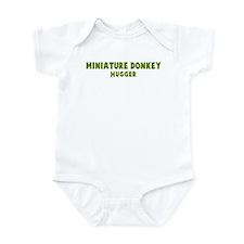 Miniature Donkey Hugger Infant Bodysuit