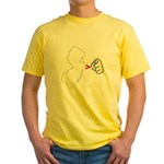 NJ > U Yellow T-Shirt