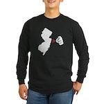 NJ > U Long Sleeve Dark T-Shirt