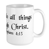 """Do All Things"" Mug"