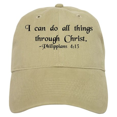 """Do All Things"" Cap"