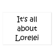 Funny Lorelei Postcards (Package of 8)