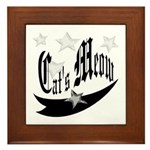Cat's Meow Framed Tile