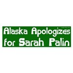Alaska Apologizes for Sarah Palin bumper sticker