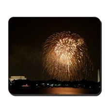 4th of July Fireworks, DC Mousepad